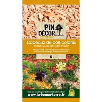 Copeaux de bois PIN DECOR, 5 l