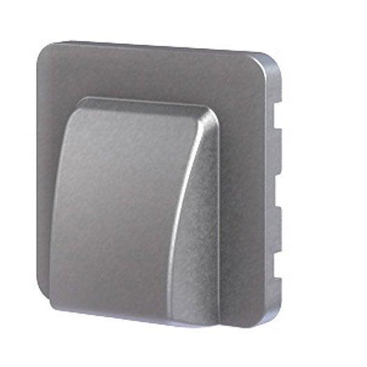 cache sortie de c ble cosy lexman aluminium leroy merlin. Black Bedroom Furniture Sets. Home Design Ideas