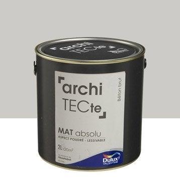 Peinture gris béton brut DULUX VALENTINE Architecte 2 l