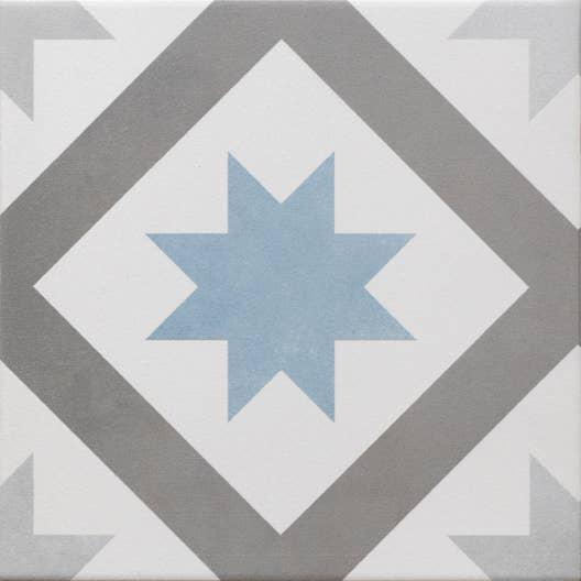 carrelage sol et mur gris fonc bleu baltique effet ciment gatsby x cm leroy merlin. Black Bedroom Furniture Sets. Home Design Ideas