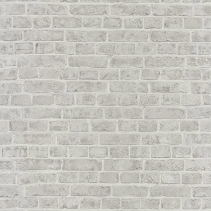 Incroyable Papier Peint Brique Blanc Intissé Street Art