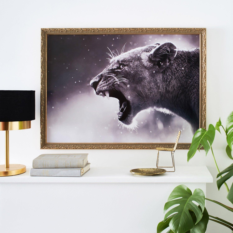 cadre pr lude 50 x 70 cm dor e leroy merlin. Black Bedroom Furniture Sets. Home Design Ideas