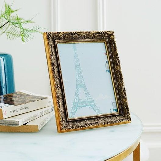 cadre pr lude 20 x 30 cm dor e leroy merlin. Black Bedroom Furniture Sets. Home Design Ideas