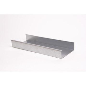 Ossature Métallique Plaque De Plâtre Rail Placo Montant