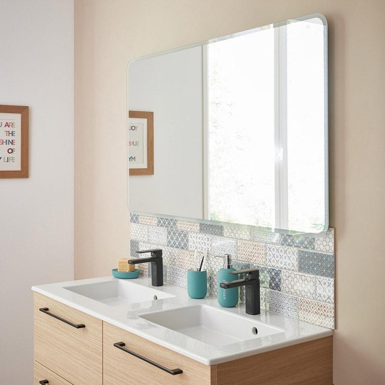 Miroir Lumineux Avec Eclairage Integre L120 X H70 Cm Renzo