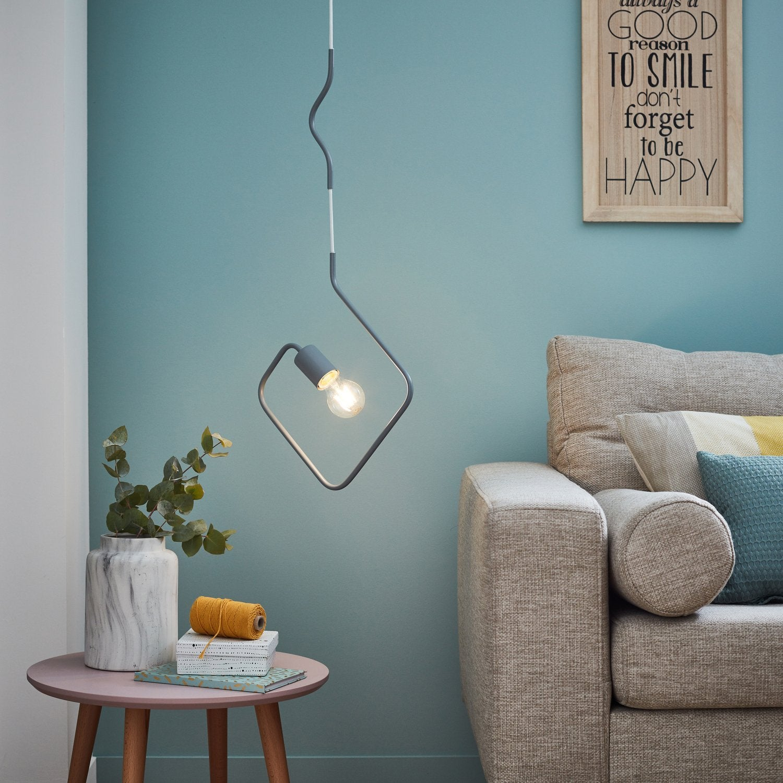 un salon scandinave et pur leroy merlin. Black Bedroom Furniture Sets. Home Design Ideas