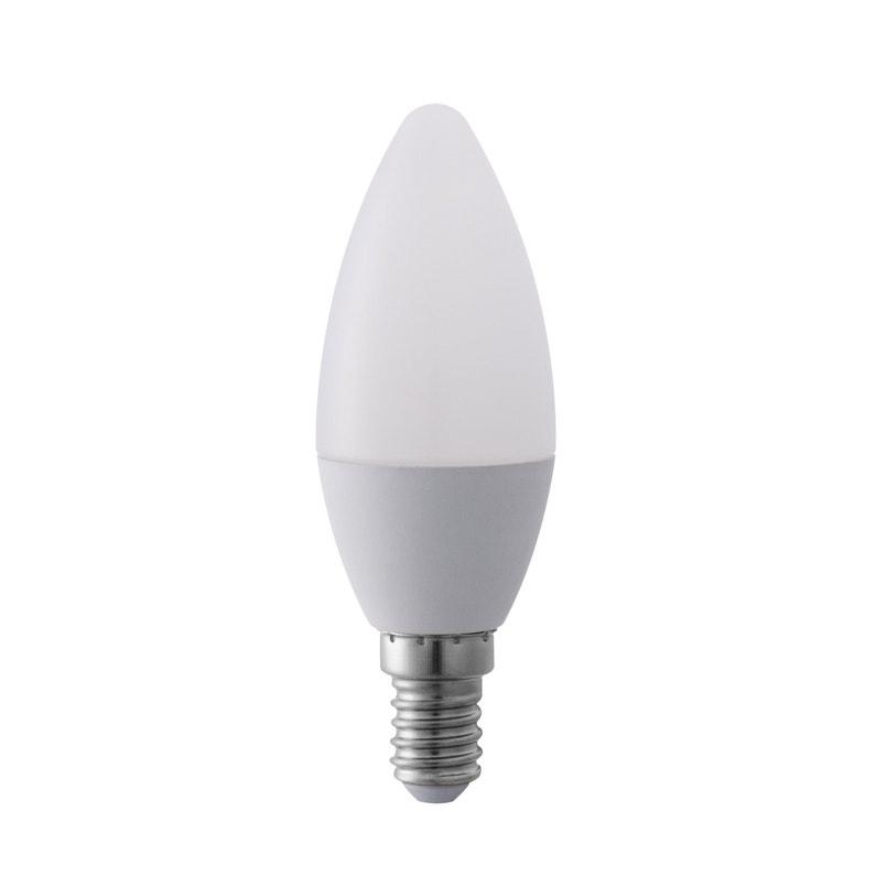Ampoule Led Opaque Bougie E14 470 Lm 55 W Blanc Chaud Lexman