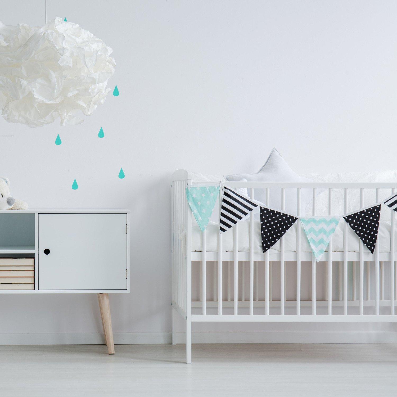 De la peinture pure pour une chambre de bébé à la déco scandinave ...