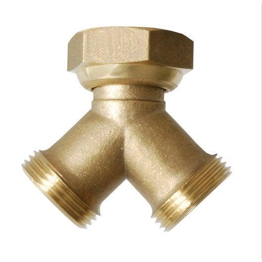Nez de robinet femelle m le 20 27 mm boutte leroy merlin - Nez de robinet ...