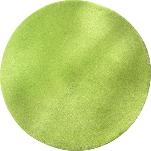 tapis vert rond vert mm leroy merlin. Black Bedroom Furniture Sets. Home Design Ideas