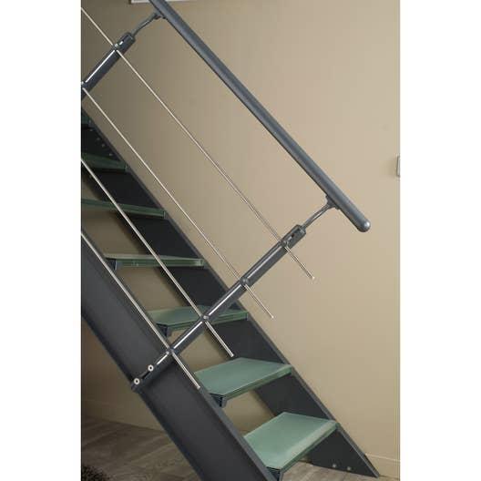 kit rampe pour escalier lisa escapi leroy merlin. Black Bedroom Furniture Sets. Home Design Ideas