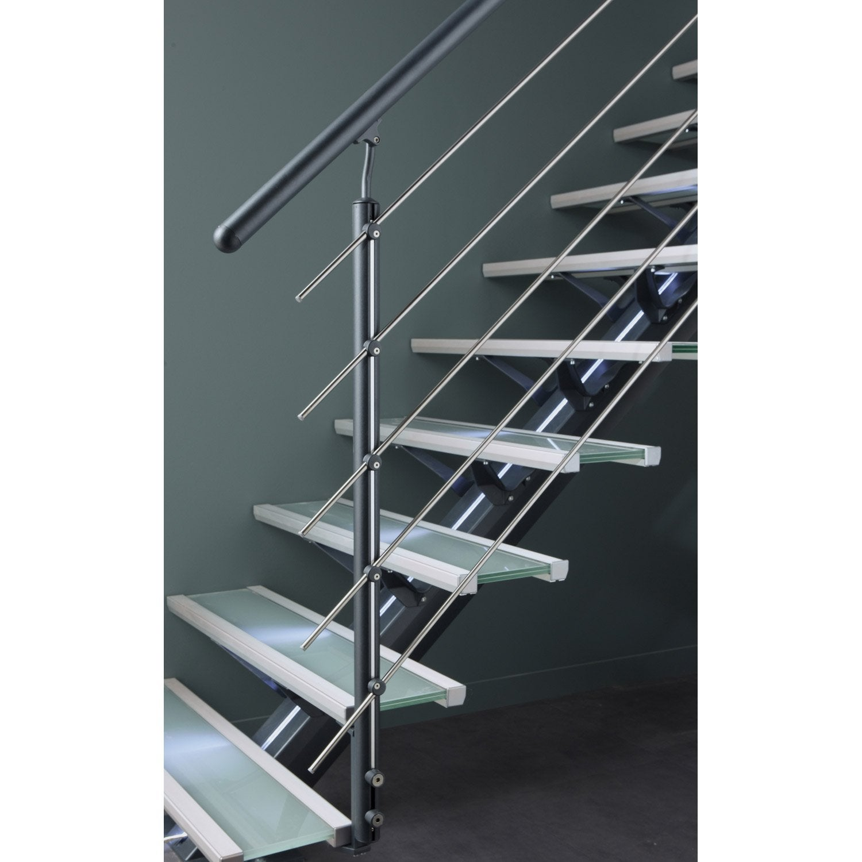 Kit rampe pour escalier mona escapi leroy merlin - Tapis de marche escalier leroy merlin ...