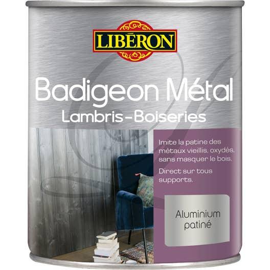 Lasure int rieure poutre et lambris badigeon m tal liberon 1 l fonte oxyd e leroy merlin - Badigeon meuble liberon ...