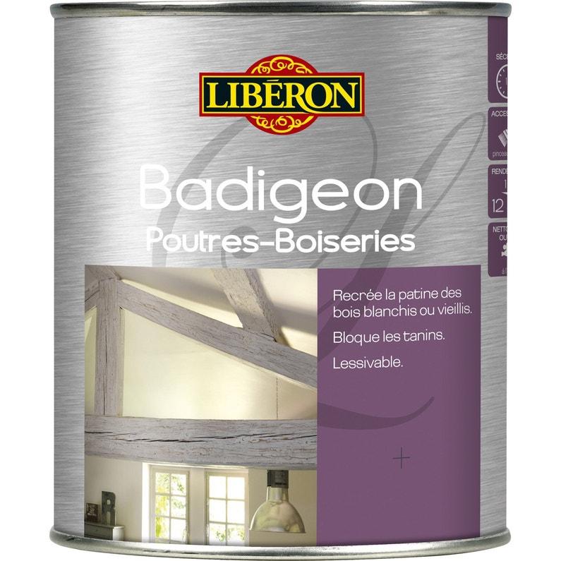 Lasure Intérieure Poutre Et Lambris Badigeon Liberon 1 L Bois