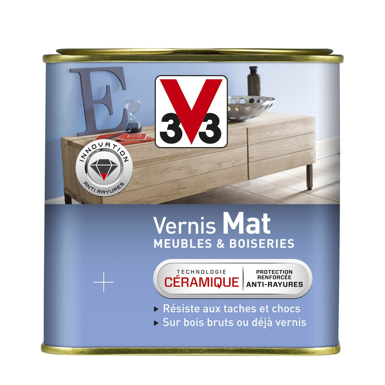 Vernis Meuble Et Objets V33, 0.75 L, Blanc Patine