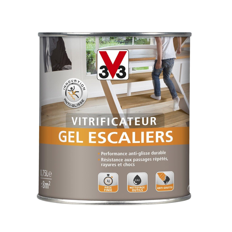 Vitrificateur Gel Escalier Vitrificateur Gel Escaliers V33 0 75 L Incolore