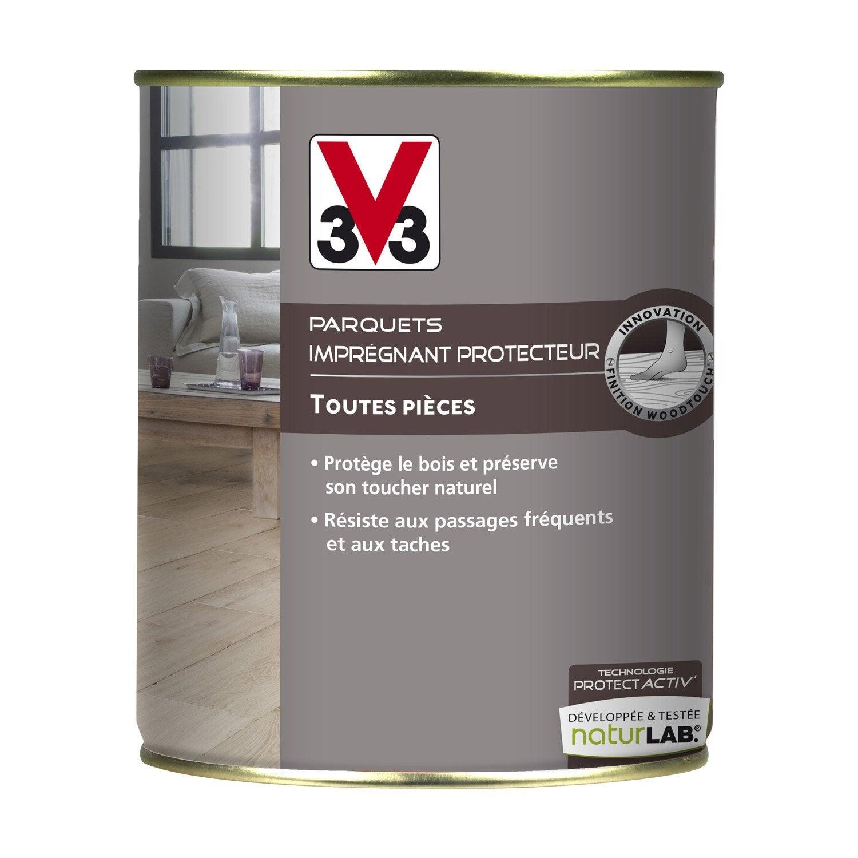 Imprégnant parquet Protect\'activ V33, 0.75 l, incolore | Leroy Merlin