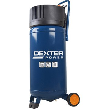 Compresseur de loisirs DEXTER POWER 50 l 2 cv