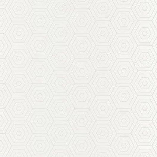papier peint hexagone blanc et blanc intiss shine leroy. Black Bedroom Furniture Sets. Home Design Ideas
