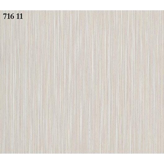Papier peint paille blanc blanc cass papier sonetto for Papier peint blanc casse