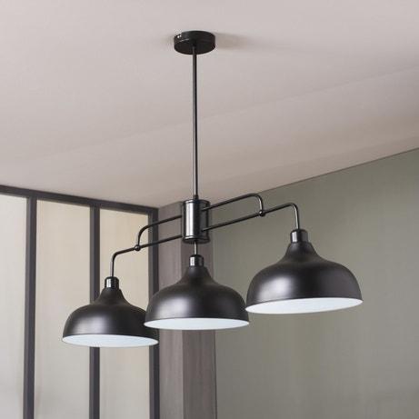 Une suspension noire parfaite avec la verrière d'atelier