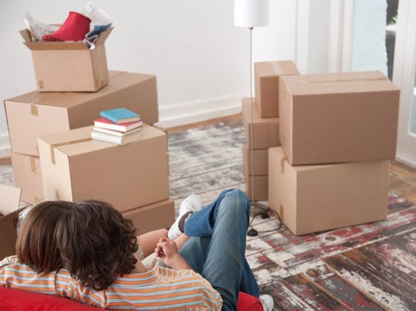 bien pr parer les cartons de d m nagement leroy merlin. Black Bedroom Furniture Sets. Home Design Ideas