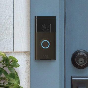 Visiophone connecté sans fil RING Bronze