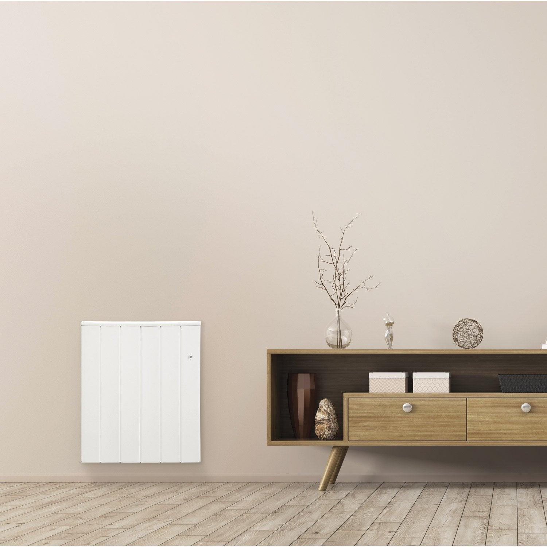 radiateur lectrique inertie pierre airelec s boa vision 2000 w leroy merlin. Black Bedroom Furniture Sets. Home Design Ideas