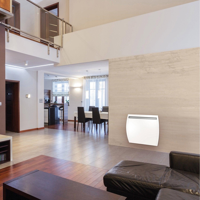 radiateur lectrique double syst me chauffant airelec douceur 1500 w leroy merlin. Black Bedroom Furniture Sets. Home Design Ideas