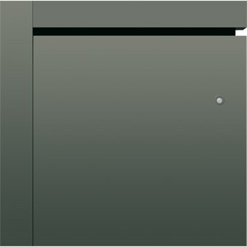 Radiateur électrique connecté à inertie fonte AIRELEC Naomi gris 1500 W