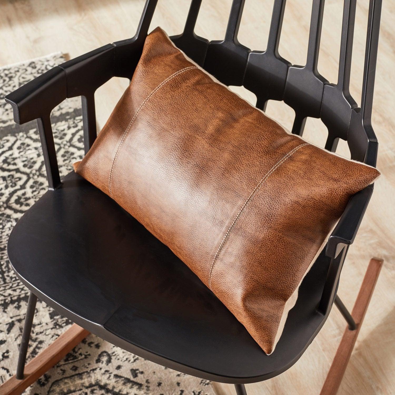 Coussin Aldo INSPIRE, marron l.50 x H.30 cm