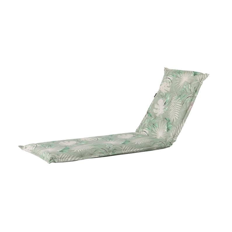 Coussin Bain De Soleil Imperméable Dotan Green Madison Vert Et Beige L65 X H2