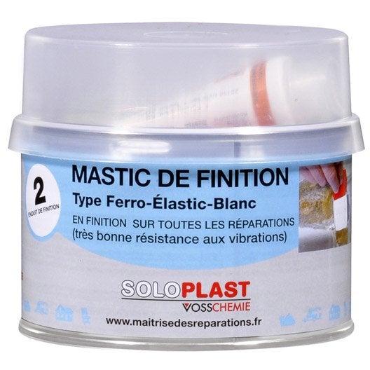 Mastic et durcisseur Finition few SOLOPLAST, 435 g