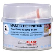 Mastic et durcisseur Finition few SOLOPLAST, 435 g