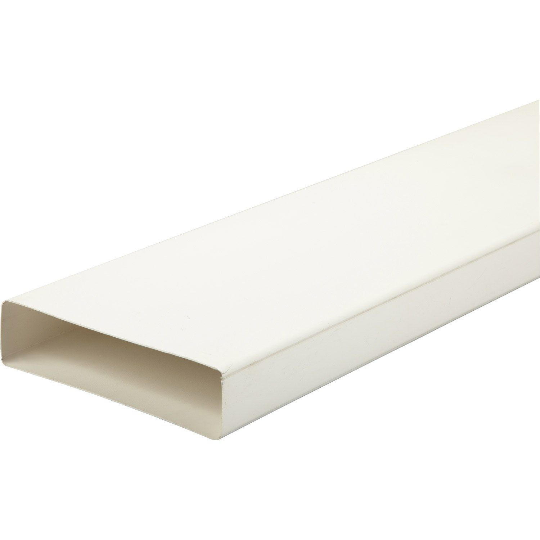 tube rectangulaire rigide plat pvc s p mm l. Black Bedroom Furniture Sets. Home Design Ideas