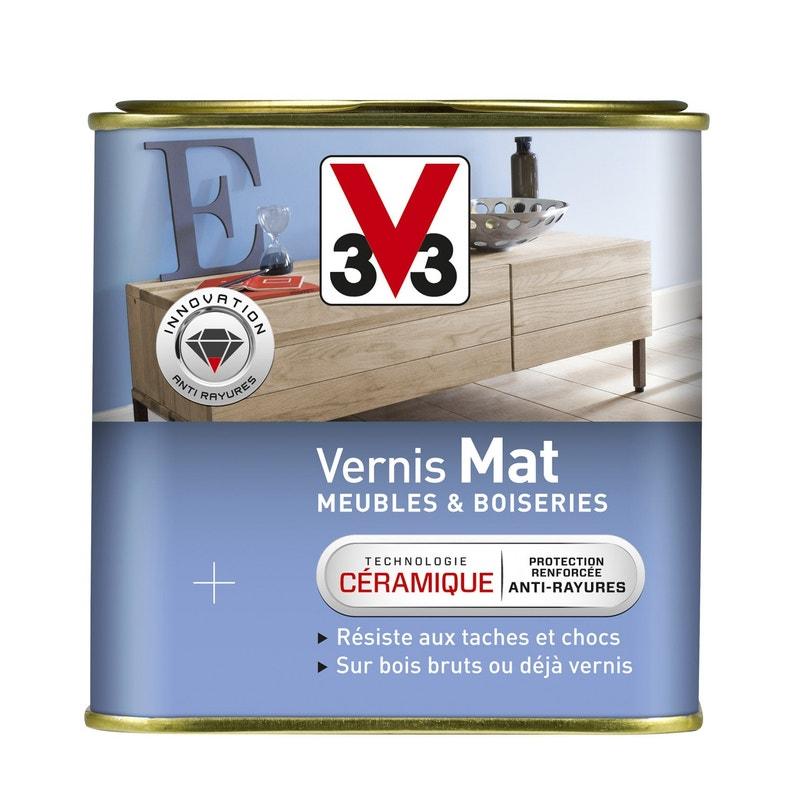 Vernis meuble et objets V33, 0.75 l, gris