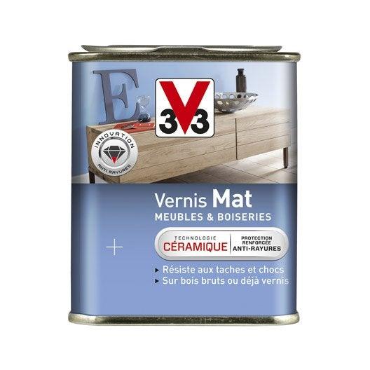 vernis meuble et objets v33, 0.25 l, incolore | leroy merlin