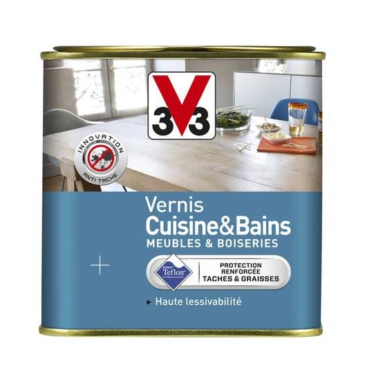 Peinture Spéciale Meuble Cuisine: Vernis Cuisine Et Bain V33, 0.75 L, Incolore