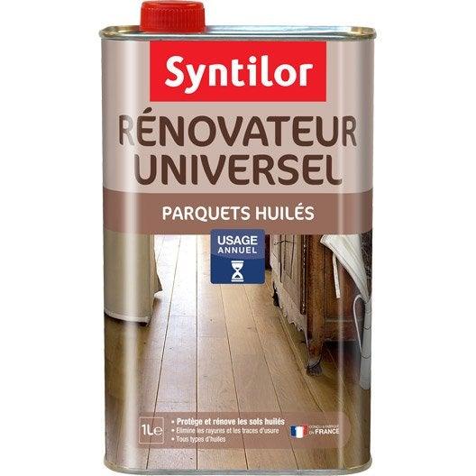 R novateur parquet huil syntilor 1 l leroy merlin - Huile parquet leroy merlin ...