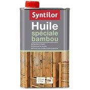 Huile à base de composants naturels meuble et objets SYNTILOR, incolore, 0.5 l
