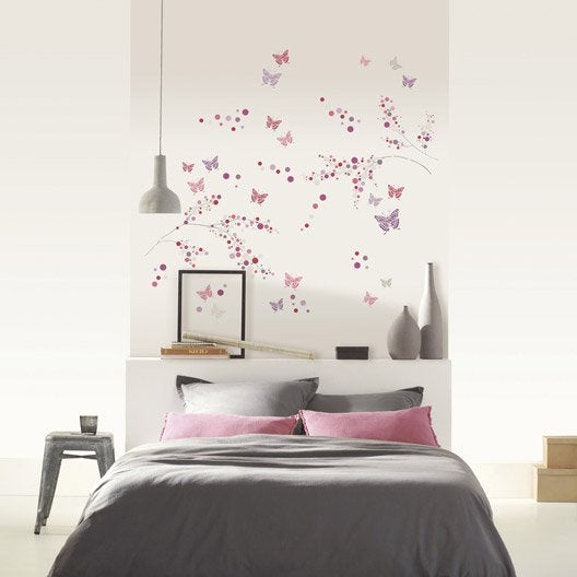 stickers muraux autocollant leroy merlin. Black Bedroom Furniture Sets. Home Design Ideas