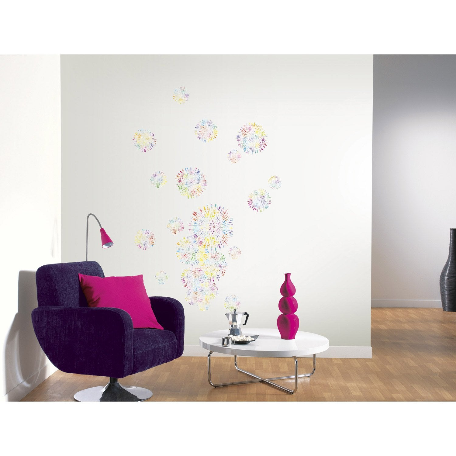 42 bulles Set Douche Dalle écran porte Stickers Autocollants Graphique Décoration