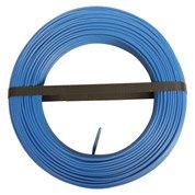 Fil électrique h07vu bleu, 1.5 mm² L.100 m
