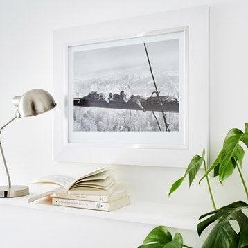 Cadre Pianura, 40 x 50 cm, blanc