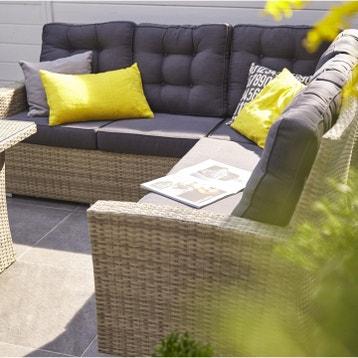 Salon Bas De Jardin 6 Places au meilleur prix | Leroy Merlin