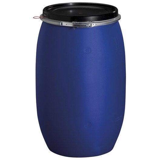 f t de mac ration a rien garantia cylindrique bleu 120 l leroy merlin. Black Bedroom Furniture Sets. Home Design Ideas