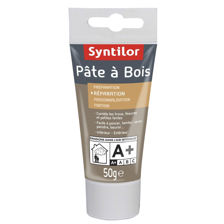 Charmant Pâte à Bois SYNTILOR, Chêne Moyen, 50 G Idees Etonnantes