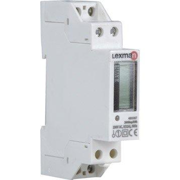 Compteur de consommation LEXMAN, 230 V, 32 A