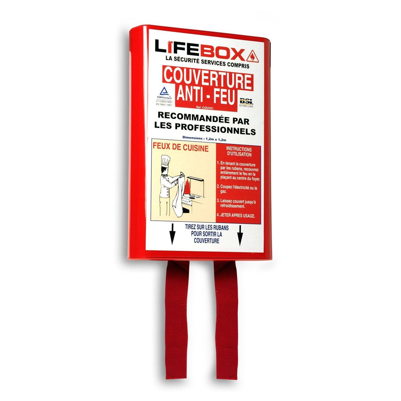 Couverture Antifeu LIFEBOX Leroy Merlin - Porte coupe feu 1h leroy merlin