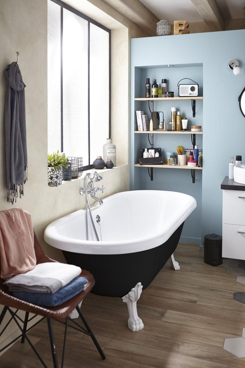 Le charme des baignoires ilots
